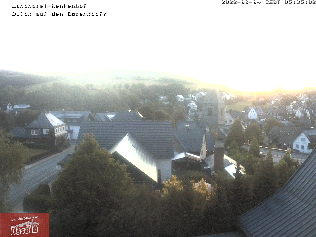 Webcam Usseln Dorfmitte